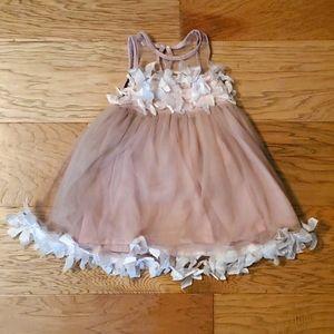 3/$15 Ruffle Flower Tulle Dress